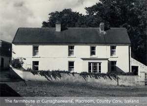 The farmhouse in Curraghanearla, Macroom, Co Cork